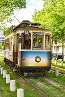 Nostalgic tram of Porto, Portugal