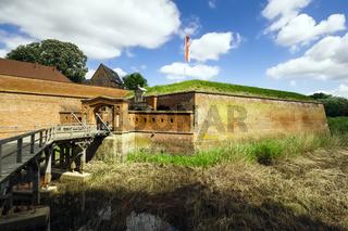 Festung Dšömitz, Brandenburg, Deutschland