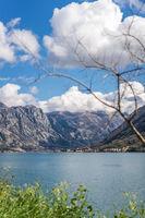 Landscape of the Bay of Kotor