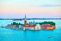 San Giorgio Maggiore Island in Venice