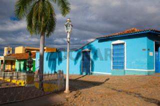 Plaza Mayor -Principal square of Trinidad, Cuba