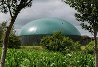 Biogasanlage zur Stromerzeugung und Energiegewinnung