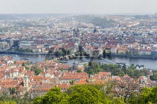 Blick über die Dächer von Prag