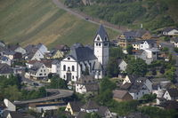 Blick auf Leutesdorf am Rhein