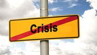 Street Sign Boom versus Crisis