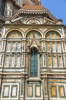 Details of the Cathedral of Santa Maria in Florence