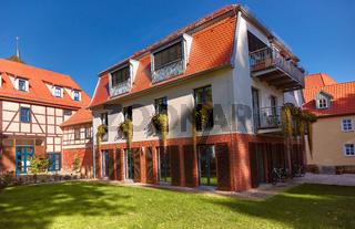 Modern house in Erfurt, Thuringia, Germany