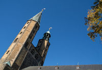 Too tower of the market church from Goslar