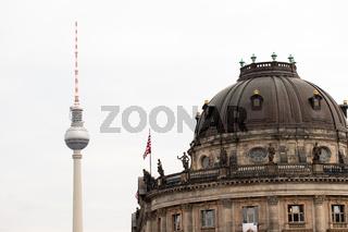Bode Museum in Berlin. Deutschland