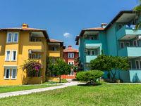 Resort Hotel Buildings