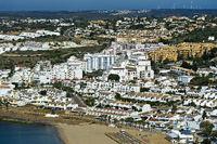 Luz an der Algarve Küste