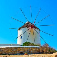 Traditional greek windmilll