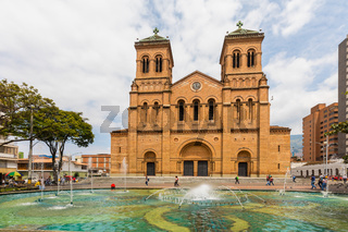 Metropolitan Cathedral of Medellin Colombia