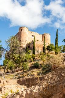 Castle, Huelma, Jaen Province, Spain