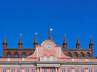 Rathaus der Stadt Rostock, Deutschland