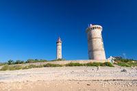 Ile de Ré - The lighthouse Phare des Baleines and old museum