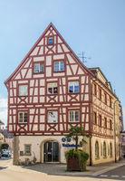Historisches Fachwerkhaus, Stockach, Baden-Wuerttemberg