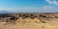 Namibia moonscape, Swakopmund region, Namibia