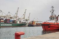 Hafenanlagen in Koper