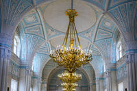Hall With Domed Ceiling, The Hermitage, St. Petersburg, Russia