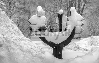 Winter im Vogtland - Der Wegweiser