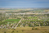 Scottsbluff and North Platte RIver in Nebraska