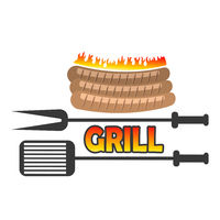 Grill Sausage Icon
