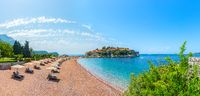 Panorama of Sveti Stefan