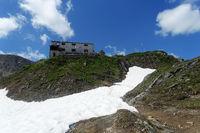 Die Lenkjöchlhütte, Tauferer Ahrntal, Südtirol