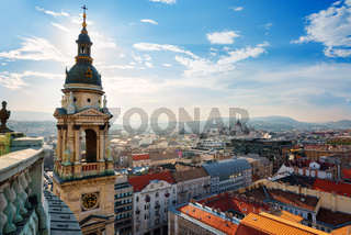 View from St Istvan basilica
