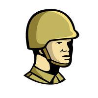 Chinese Communist Soldier Icon
