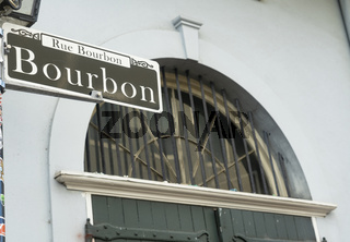 Bourbon Street Famous Downtown French Quarter New Orleans