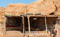 Bedouin hut in  Egypt