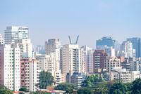 View of Sao Paulo biggest city in Brazil