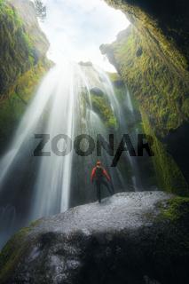 Gljufrabui Wasserfall