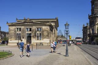Stadtrundfahrt, Dresden, Sachsen, Deutschland