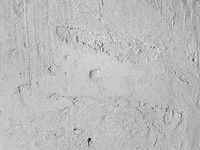 Raw Gypsum Plastering of a Wall