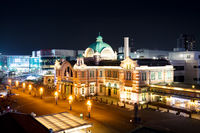 Seoul Train Station at Night