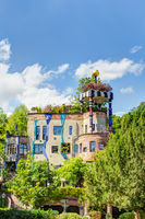 Hundertwasserhaus in Bad Soden, Hessen
