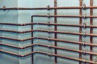 Many Heating Pipes