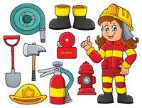 Firefighter theme set 1