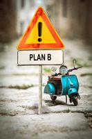 Street Sign to Plan B