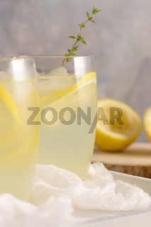 Cold lemonade