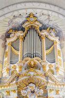 Silbermann-Orgel der Frauenkirche Dresden