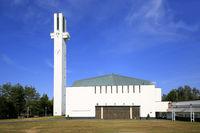 Lakeuden Risti Church by Alvar Aalto