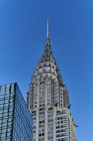 Das Chrysler Building in New York City