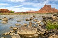 Colorado River above Moab in Utah