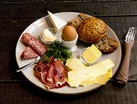 kräftiges Frühstück