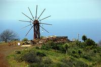 historische Gofio-Mühle mit Gofio-Museum