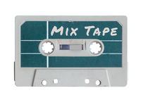Isolated Grungy Mix Tape
